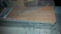 3 boxes of new Northern Red Oak 7mm click flooring