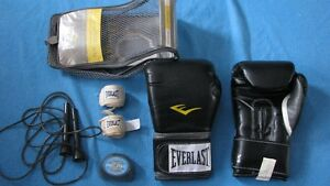 NEW Everlast Pro Training Gloves Black 16 oz West Island Greater Montréal image 2
