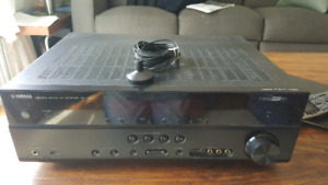 Home Theatre Receiver with Sub and 3 Speakers