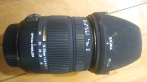 Sigma 18-50mm F2.8-4.5 OS HSM (Canon EF Mount)