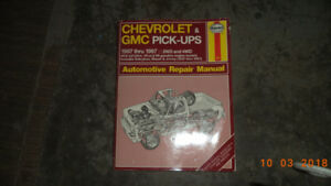 Haynes shop manuals