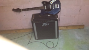 Guitar and amp for sale both work good