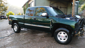 2002 gmc for parts or rebuild