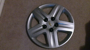 Chevrolet 16inch Hub Caps-5 bolt pattern - $50 for all 4. Prince George British Columbia image 1