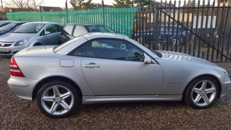 2004 mercedes benz slk slk 200k tip auto in chadwell heath london gumtree. Black Bedroom Furniture Sets. Home Design Ideas