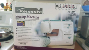 Kenmore  Sewing Machine with manual