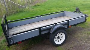 Utility Trailer - Interior 9 Feet Long X 50 Inches Wide.