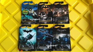 Hot Wheels 2014 Batman Cinematic Exclusive Set of 6 Packs