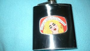 "ADORABLE ""LUCKY STREET""  BLONDE PIC 7OZ HIP FLASK FOR SALE Kitchener / Waterloo Kitchener Area image 1"