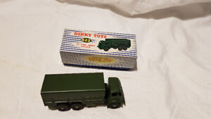 Dinky Toys - #622, 10-Ton Army Truck, New in Original Box