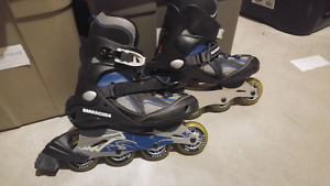 2 pairs of Roller skates. Size 8