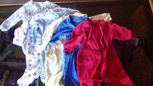 6 pairs of boys 6-12 month light sleepers