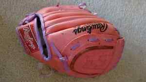 Girls Baseball gloves