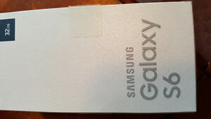 Band new Samsung S6 with outterbox