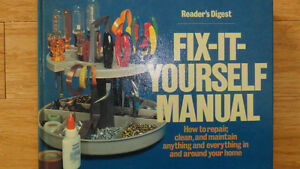 FIX-IT-YOURSELF MANUAL Cambridge Kitchener Area image 1