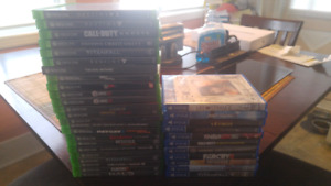 Xbox ONE And PS4 Games!