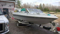 1997 Tempest Bowrider 15.5 with 2004 Honda 90 four stroke