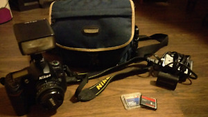 Nikon D70s camera package