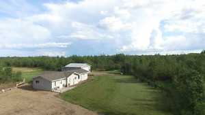 Acreage Living! 3 Bedroom Home on 39 + Acres north of Glaslyn!