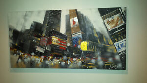 New York Canvas Picture - Wall Art