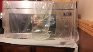 microwave Panasonic stainless steel