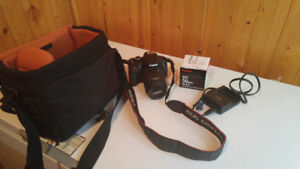 Canon EOS Rebel T4i, barely used include extra lens and bag