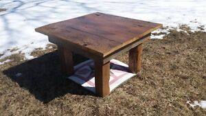 barn board book case/ t.v. stand