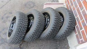 Winter tires on rims West Island Greater Montréal image 1