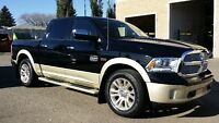 2014 RAM 1500 LONGHORN LOADED GORGEOUS BROWN INTERIOR !!