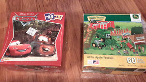 Jigsaw puzzles (ages 3+)