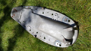 BMW R80/7 seat pan, foam and hinges for sale