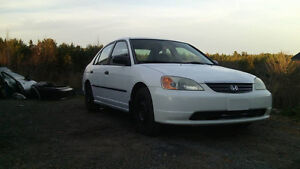 2001 Honda Civic Sedan 5 speed $900 OBO