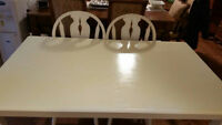 SHEBBY DESIGN DINING TABLE SET