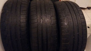 WINTER TIRES  245/50/R18  RUNFLAT  (SET OF 4TIRES =160)