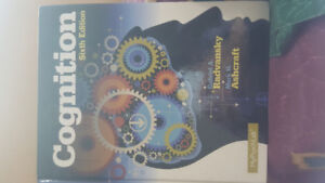 Cognition 6th edition by Radvansky and Ashcraft