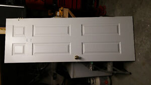 white door for sale clean great condition