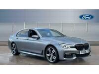 2018 BMW 7 Series 730d xDrive M Sport 4dr Auto Diesel Saloon Saloon Diesel Autom