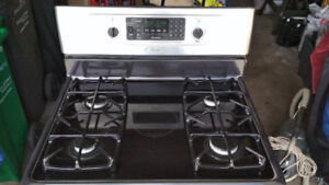 Kenmore Elite Stainless Steel Gas Stove for sale