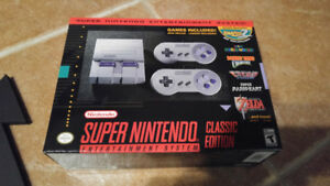 Brand New In Box SNES Classic