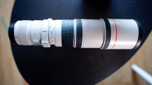 Canon L series 400mm f5.6 wildlife lens for sale