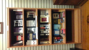 6 foot bookcases with 4 adjustable shelves