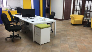 COWORKING OFFICE ALL INCLUDED, KITCHEN, WIFI + TV + 25% OFF