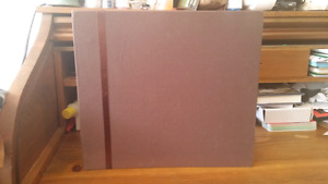 Scrapbook with 10 pages $10