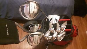 Complete set of Adams golf clubs for sale