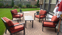 Patio Set with Thick Cushions