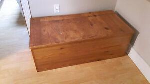 Big Wooden Storage Box