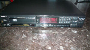SONY CD  PLAYER-- Model # CDP 203 w Remote Control & Manual