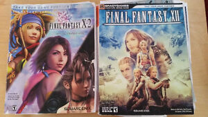 FF X2 and FFXII Strategy Guides