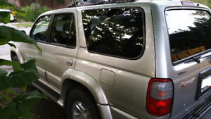 4RUNNER LIMITED NEW TRANSMISSION BY TOYOTA 363K RUNS AWESOME
