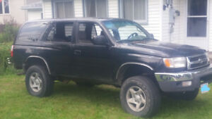 1999 Toyota 4runner trade for camper trailer